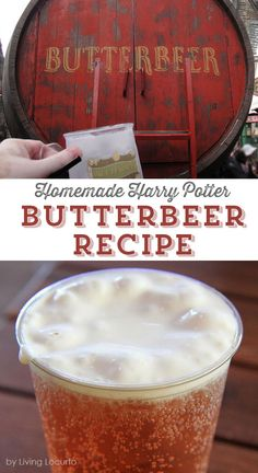 A Frozen Butterbeer Recipe that's a perfect treat for any Harry Potter fan! Easy homemade copycat drink that tastes like Butterbeer from Universal Orlando. Frozen Butterbeer, Easy Butterbeer Recipe, Harry Potter Food, Harry Potter Wedding, Easy Drink Recipes, Cooking Recipes, Healthy Recipes, Beer Recipes, Party