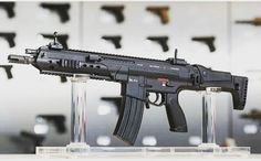 Heckler & Koch HK433, proposed rifle for the German Armed Forces. Inspired by the Magpul Masada (Bushmaster ACR) and the discontinued HK XM8.