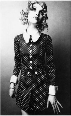 Biba model Madelaine Smith photographed by Donald Silverstein 1968