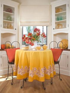 Bright, Bold and Beautiful....love the colors and simplicity of this.