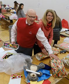 The Miami University community has been taking part in several service projects to serve those in need during the holiday season.