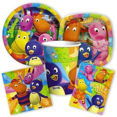 1000 images about backyardigans on pinterest party for Backyardigans party decoration