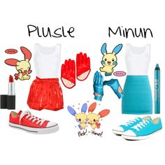 Plusle & Minun Cosplay!
