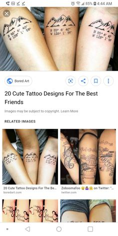 Group Tattoos, Triangle