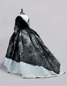 Shawl ca. 1860's  From CHRISTIE'S