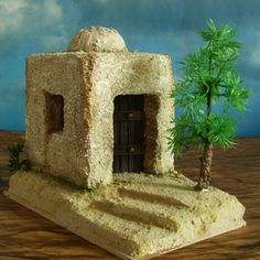 Home Crafts, Ideas Para, Nativity, Miniatures, Architecture, Wallpaper, Christmas, Minis, Boxes