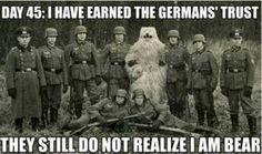 German army bear