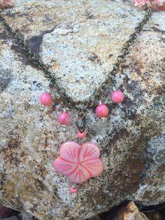A personal favorite from my Etsy shop https://www.etsy.com/listing/238842641/pink-boho-anklet-pink-boho-bracelet-pink