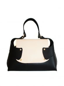 Little Thing Leather Flap by LAUREN GEOGHEGAN