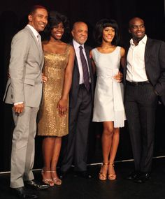 MOTOWN! Charles Randolph-Wright, Aisha Jawondo, Berry Gordy, Lucy St. Louis, Cedric Neal.