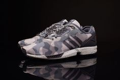 2d7b7206fa65 The Decon edition of the ZX Flux offers a revised take on the 2014 original  with ZX 8000 detailing added to the lace loop area.