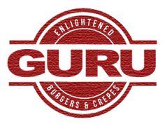 Guru burgers and Crepes.
