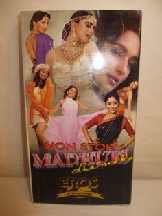 Madhuri Dixit Nonstop Dhamaka VHS tape by EROS Bollywood Video
