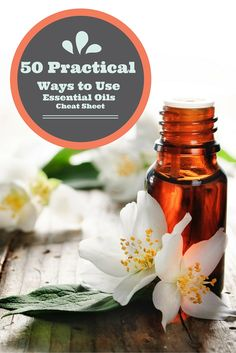 50 Practical Ways to Use Essential Oils via Deliciouslyorganic.net #essentialoils