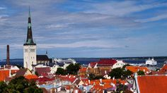The #rooftops of #Tallin, #Estonia ⠀  Photo: Martin Klimenta ⠀  #BalticsTravelwithMIR #balticstravel #balticstourism #visitestonia #estoniatours #travel #tourism #wanderlust #worlderlust #beautifuldestinations #instapassport #travelgram #seetheworld #bestofthebaltics #ilovebaltics #architecture #aerialview #cityscape #skyline #eurotrip
