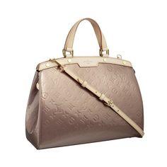 Louis Vuitton Brea GM Beige Shoulder Bags