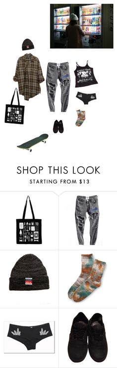 """thursday"" by mermaid-nielsine ❤ liked on Polyvore featuring Diamond Supply Co. and Vans"