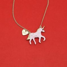 The Web's Unicorn Gift Store. Anything you can think of that might have a Unicorn on it; Unicorn Jewelry, Unicorn Necklace, Unicorn Gifts, Gift Store, Unicorns, Pink, Silver, Accessories, A Unicorn