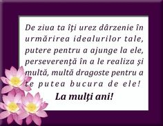 La mulți ani! Birthday Greetings, Birthday Cards, Happy Birthday, Birthday Parties, Vows, Letter Board, Balloons, Birthdays, How To Get