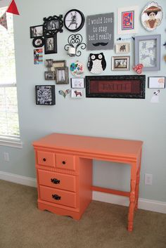 How to paint wood/laminate furniture without sanding.
