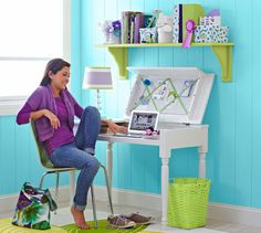 Make a computer desk for your home office, or it's perfect as a study desk for a teen's bedroom. So why not spend the weekend with your son or daughter building a pair of them? http://www.home-dzine.co.za/diy/diy-lifttop-desk.htm