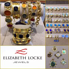 Today is the FINAL DAY for the special collections of Elizabeth Locke Jewels at Susan Robinson Jewelry! Come by while it's still here!