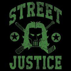 Street Justice Casey Jones - tee shirt #tmnt #teenagemutantturtles #ninja #ninjas #mma #caseyjones #boxing #comics #geek #nerd #top #tee #shirt $28.63