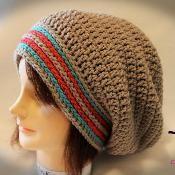 Slip & Shout Slouch Crochet Pattern - via @Craftsy