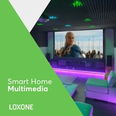 What comes to mind when you think of multimedia? The right music? Or simply creating the perfect mood? All of this is possible in a Loxone Smart Home. Multiroom Audio, At A Glance, Entertainment, Home Cinemas, Smart Home, Multimedia, Mindfulness, Mood, Products