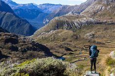 Inspiring! @youngadventures hikes New Zealand's famous Routeburn Track.