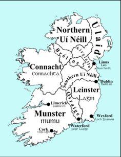 Kingdom of Breifne - the traditional territory for an early Irish tribal group known as the Uí Briúin Bréifne. The Bréifne territory included the modern Irish counties of Leitrim and Cavan, along with parts of County Sligo Ireland Map, Ireland Travel, Ireland Vacation, Dublin, Irish Celtic, Celtic Pride, Celtic Art, Irish Pride, England And Scotland