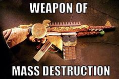 WEAPON OF MASS DESTRUCTION #healthysurprise #glutenfree #whatveganseat #soyfree #cornfree #nutrition #vegan