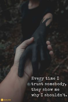 Every time I trust somebody, they show me why I shouldn't. Lost Trust Quotes, Trust Issues Quotes, Broken Trust Quotes, Amazing Quotes, Best Quotes, Love Quotes, Inspirational Quotes, Quotes About Hate, Girly Attitude Quotes