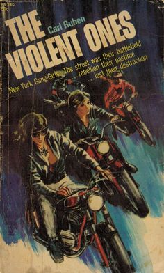 The Violent Ones pulp novel Pulp Fiction, Fiction Movies, Mafia, Biker Movies, Sci Fi Horror Movies, Vintage Movies, Vintage Romance, Vintage Books, Vintage Book Covers
