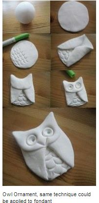 How to make an owl. *Picture only.*