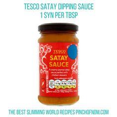 tesco satay sauce - new slimming world essentials pinch of nom
