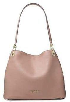 04e579801a2b MICHAEL Michael Kors Raven Leather Shoulder Bag