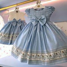 It& a dream come true these Mio Baby dresses to dress the princesses! Fashion Kids, Little Girl Fashion, Little Girl Outfits, Little Girl Dresses, Kids Outfits, Girls Dresses, Flower Girl Dresses, Baby Dresses, Baby Dress Design