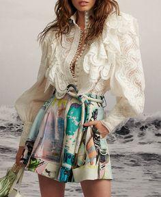 New Year Solid Casual V-Neckline Long Sleeve Blouses Flare Sleeve Crop Knit Black Women's summer fashion, fashion, eyewear, sunglasses. Fashion 2020, Runway Fashion, High Fashion, Womens Fashion, Fashion Trends, Fashion Styles, Fashion Online, Moda Chic, Mode Inspiration
