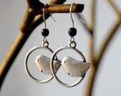 Sweet little earrings.