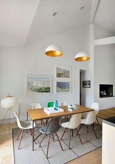 Salle à manger deco, 7 photos pour s'inspirer Dining Room Inspiration, Home Decor Inspiration, Dining Room Design, Dining Area, Pastel Interior, Dream Furniture, Bedroom Styles, Flat Design, Kitchen Interior
