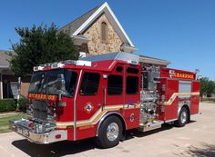 This rescue-pumper, designated Engine 6 for the Richardson (TX) Fire Department, is built on a 2013 E-ONE Cyclone II cab and chassis.