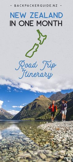 NZ 1 month road trip itinerary