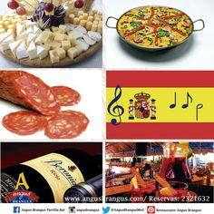 En nuestro #FestivalGastronómico disfruta de la comida españolas: #Paellas, #Quesos, #Vinos y otras especialidades con un toque mediterráneo. Reservas: 2321632 o a través de nuestro sitio web http://www.angusbrangus.com   #medellín #restaurantesenmedellín #restaurantes #laspalmas #paellas #AngusBrangus #Colombiatex2015 #almuerzo #martes http://ow.ly/i/8r9bc