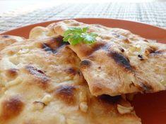 Indický chléb (placka) naan - Ochutnejte svět