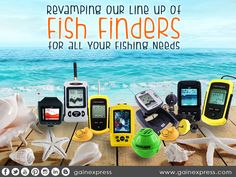 Still fishing in a classical way? Why not try our #3W's (#Wired, #Wireless, #WIFi) Fish Finder. We have different kind of Fish Finders to choose from that suits your Fishing Needs!   Check http://www.gainexpress.com/collections/fish-finder.com to know more.  #FishingGear #underwatercamera #portable  #waterproof