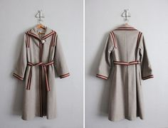 A lovely 1970s #vintage wool coat from Allen Co. to tuck away for winter.