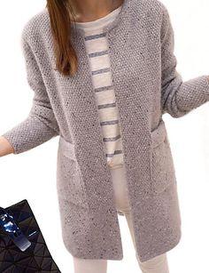 Znalezione obrazy dla zapytania swetry damskie 2017 robione na drutach