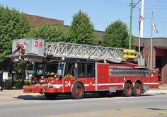 Chicago FD Tower Ladder 34.