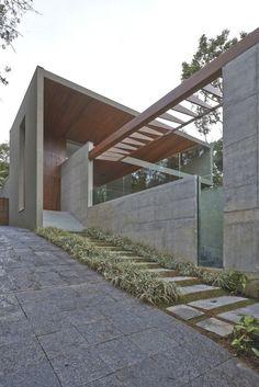 Arquitectos: Anastasia Arquitetos  Proyecto: Residencia Bosque da Ribeira  Ubicación: Nova Lima – Minas Gerais, Brasil  Año: 2013